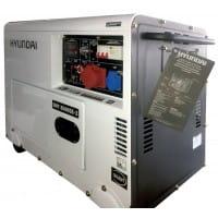 Генератор дизельный Hyundai DHY 8500SE-3