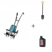 Культиватор электрический Hyundai T 1810E + лопата + масло в подарок!