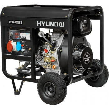 DHY 6000LE-3  в фирменном магазине Hyundai