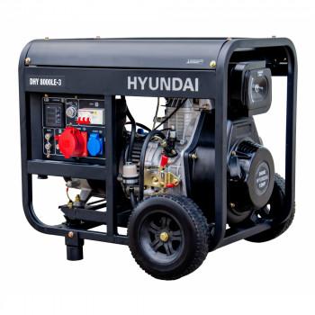 DHY 8000LE-3  в фирменном магазине Hyundai